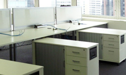 Google Sydney 350 x Recycled Workstations. System RJ Workspace
